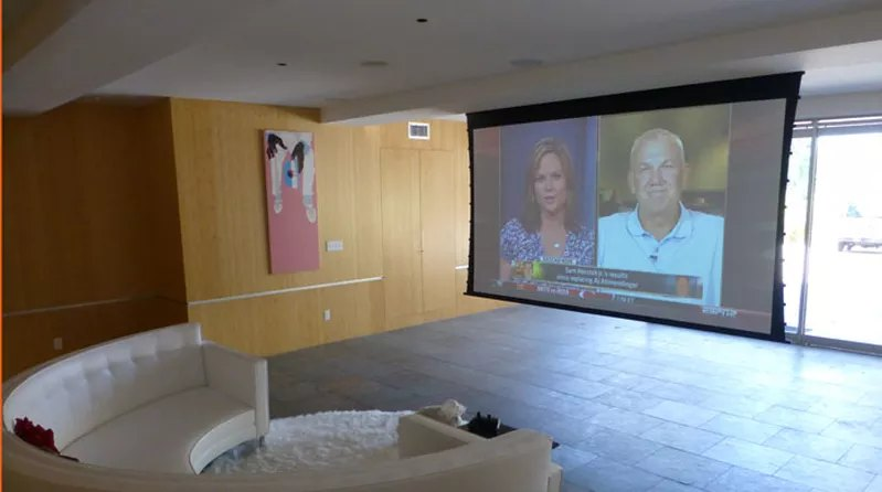 Mandeville Canyon, Brentwood, Home Theater Installation and Whole Home System
